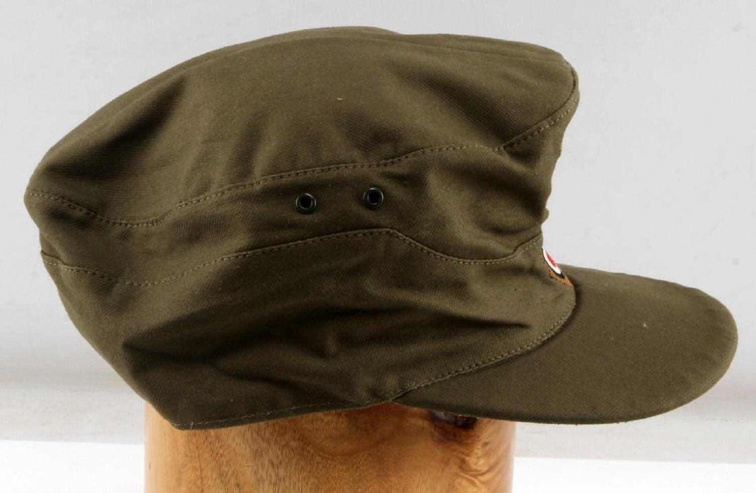 WWII GERMAN THIRD REICH AFRIKA KORP  FIELD CAP - 2