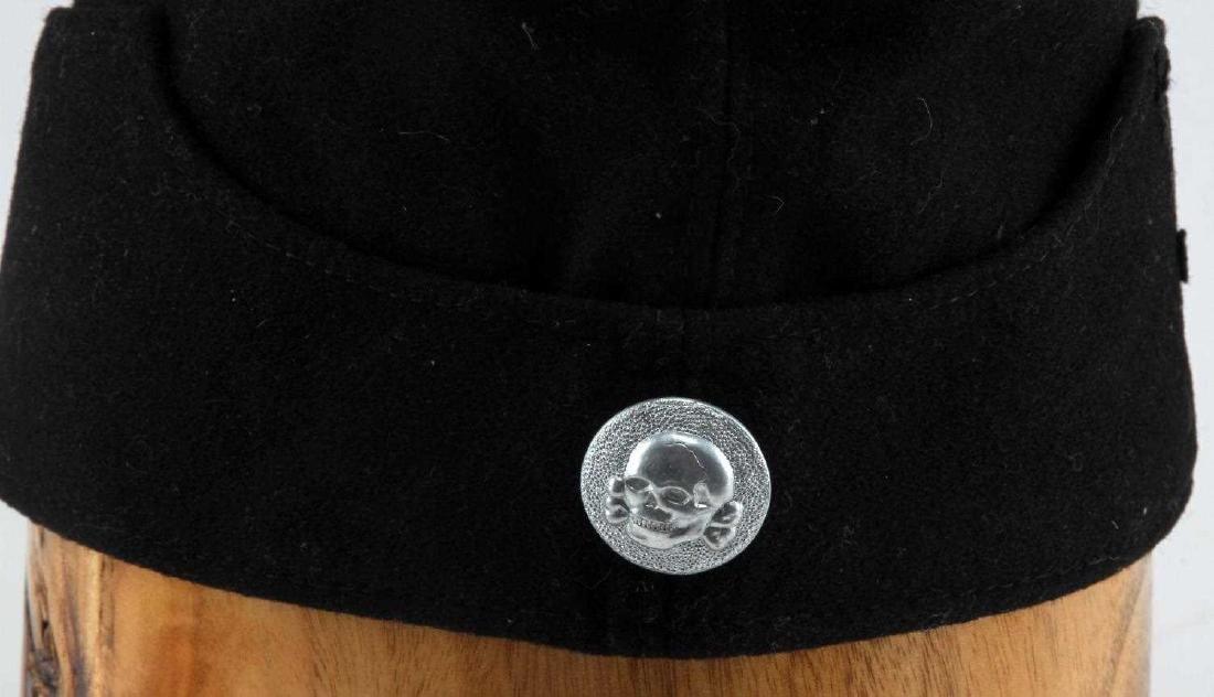 WWII GERMAN THIRD REICH WAFFEN SS OVERSEAS CAP - 2