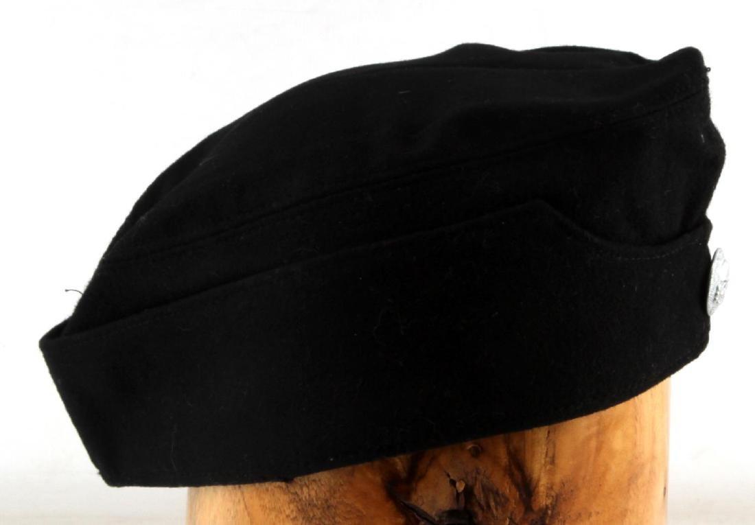 WWII GERMAN THIRD REICH WAFFEN SS OVERSEAS CAP - 3