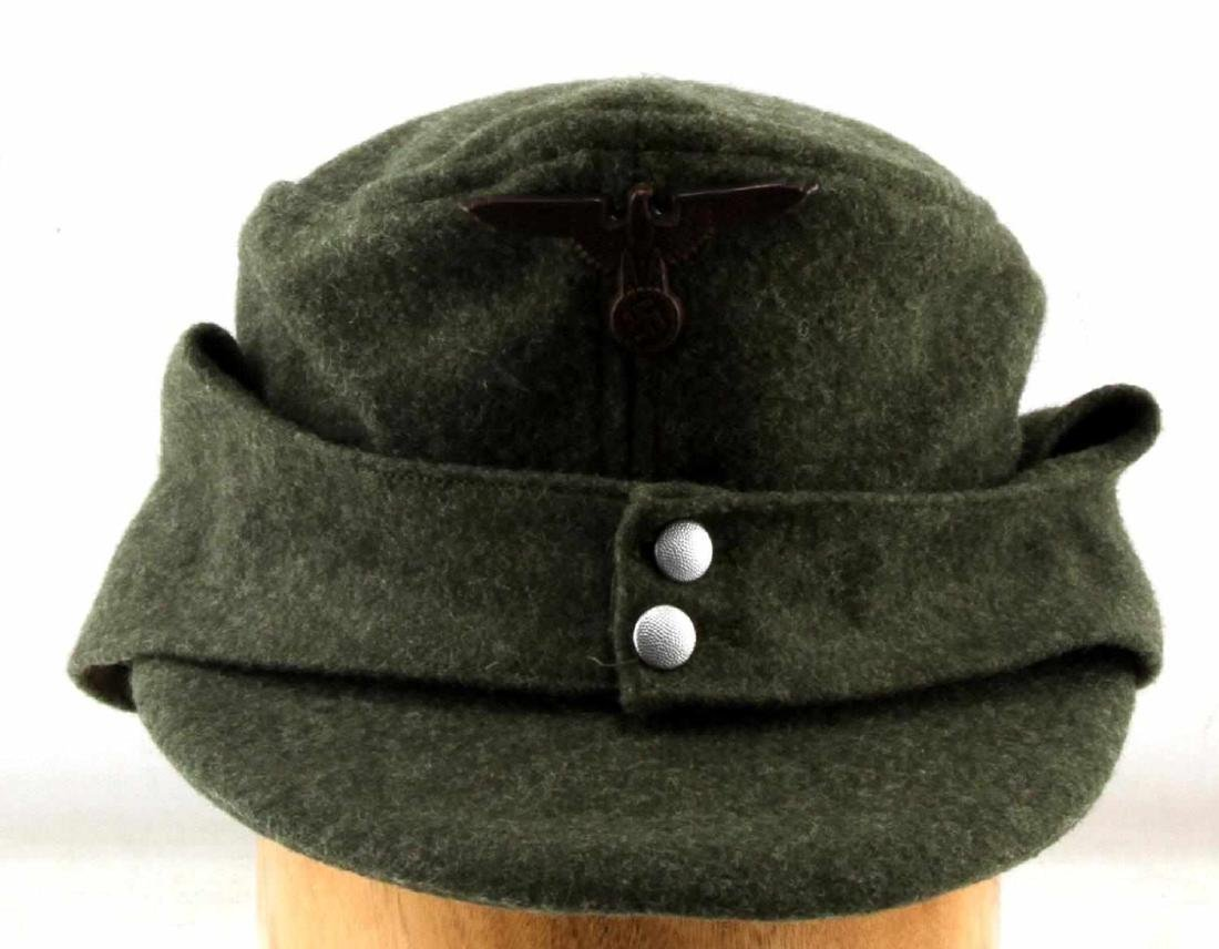 GERMAN WWII WAFFEN SS ENLISTED MANS M-43 CAP