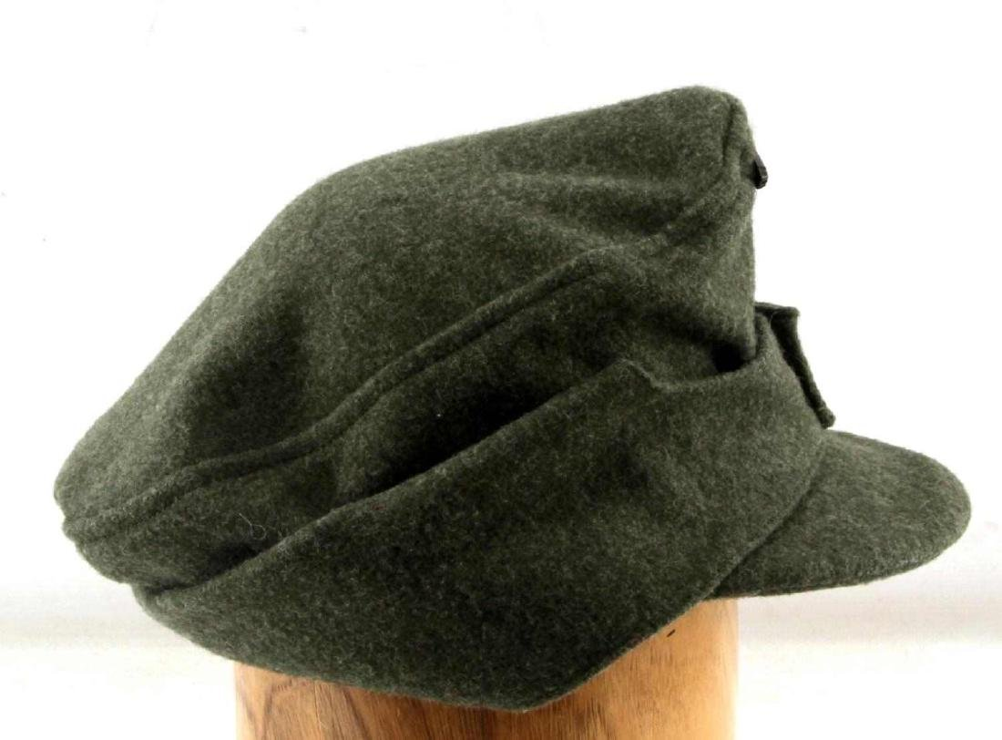 GERMAN WWII WAFFEN SS ENLISTED MANS M-43 CAP - 3