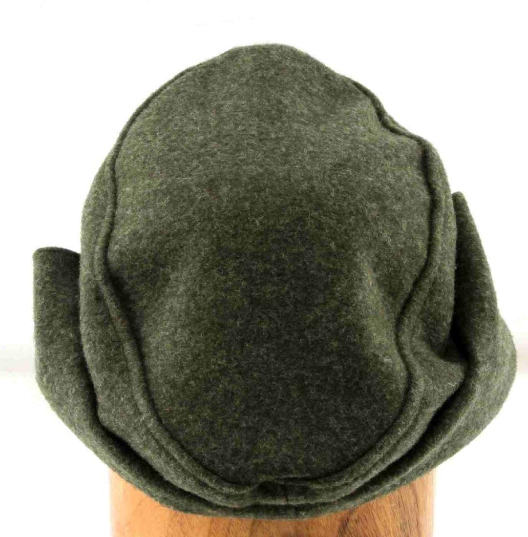 GERMAN WWII WAFFEN SS ENLISTED MANS M-43 CAP - 4