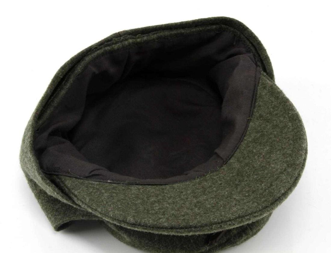 GERMAN WWII WAFFEN SS ENLISTED MANS M-43 CAP - 5