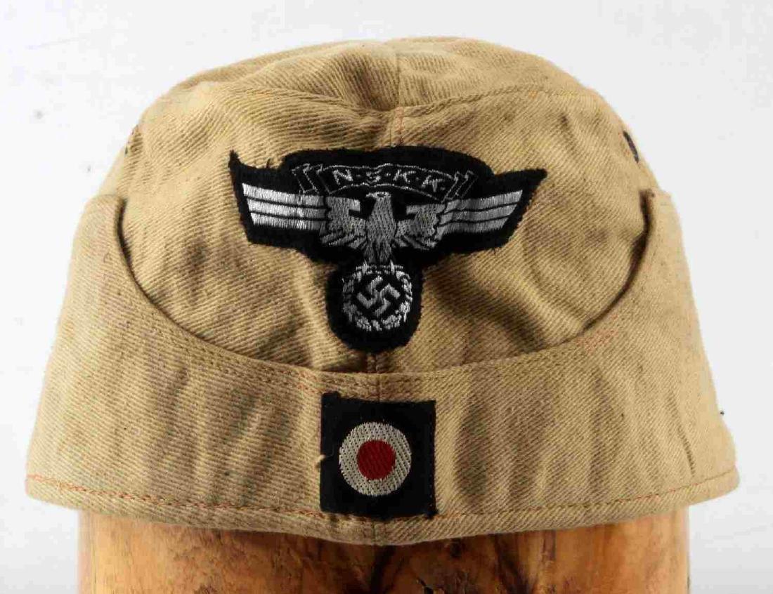 WWII GERMAN THIRD REICH NSKK AFRIKA KORPS NCO CAP