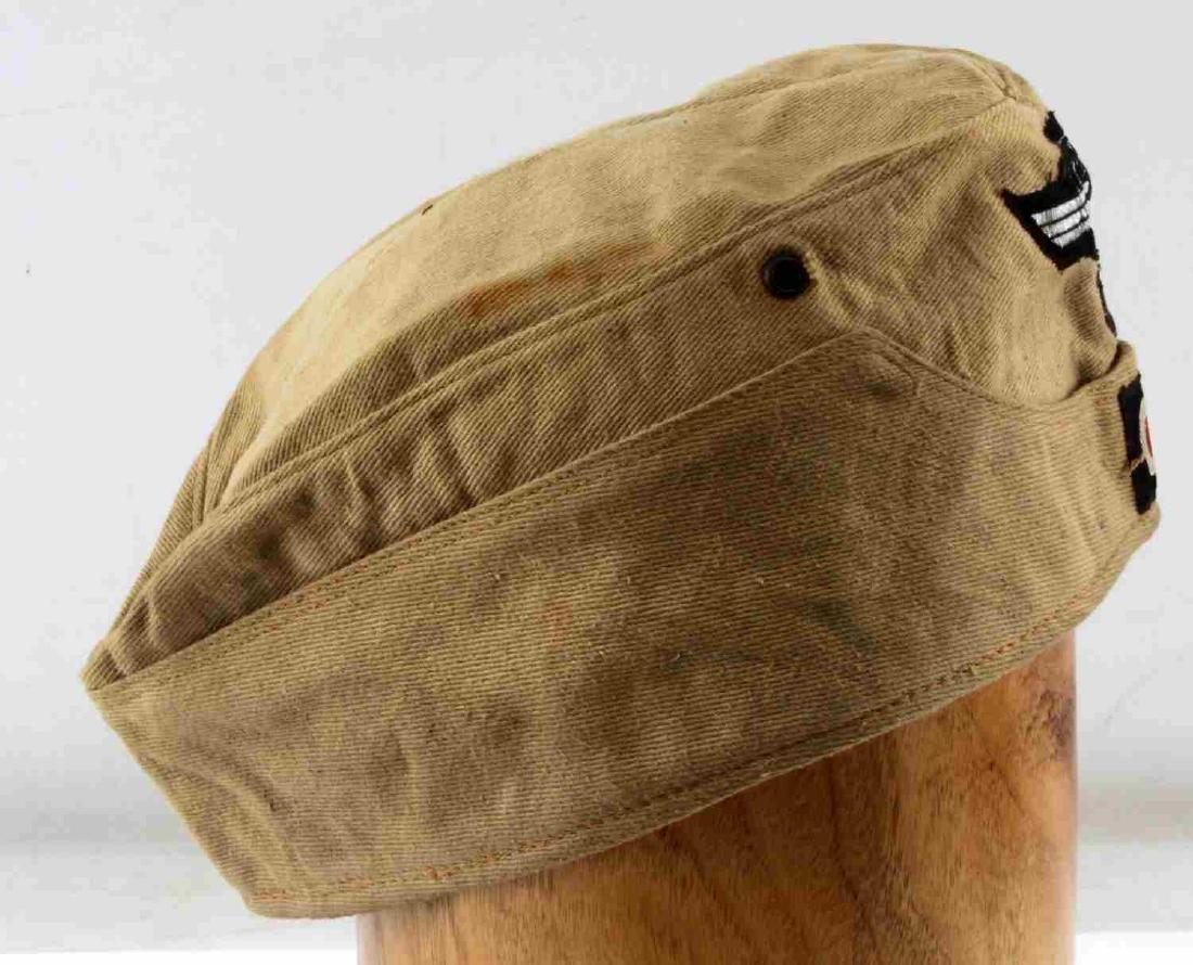 WWII GERMAN THIRD REICH NSKK AFRIKA KORPS NCO CAP - 2
