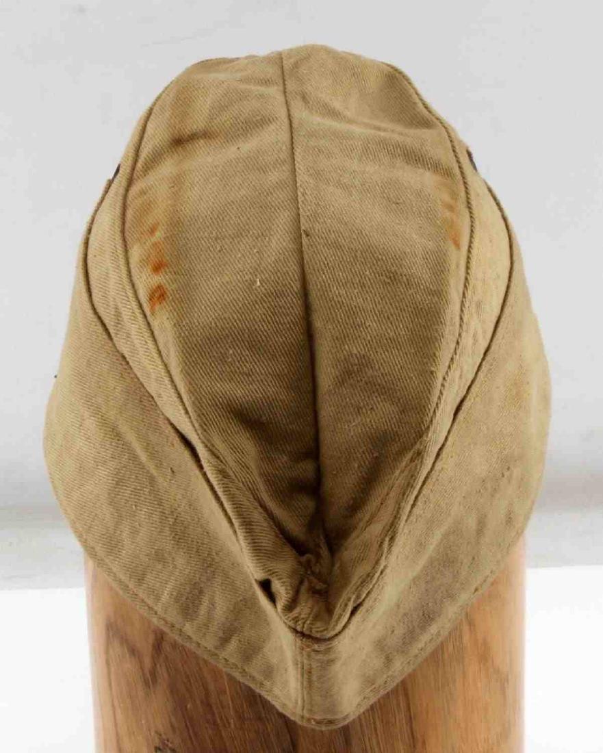 WWII GERMAN THIRD REICH NSKK AFRIKA KORPS NCO CAP - 3