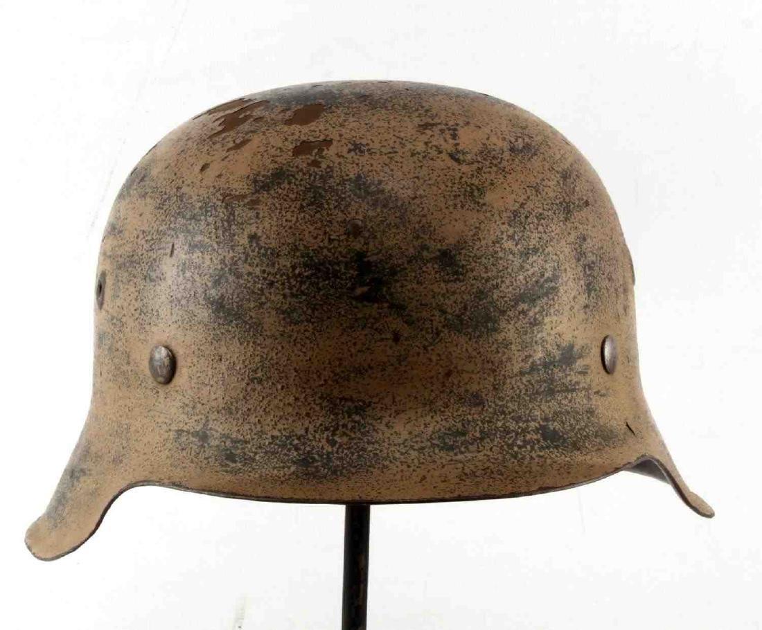 GERMAN WWII AFRIKA KORPS TROPICAL EM M40 HELMET