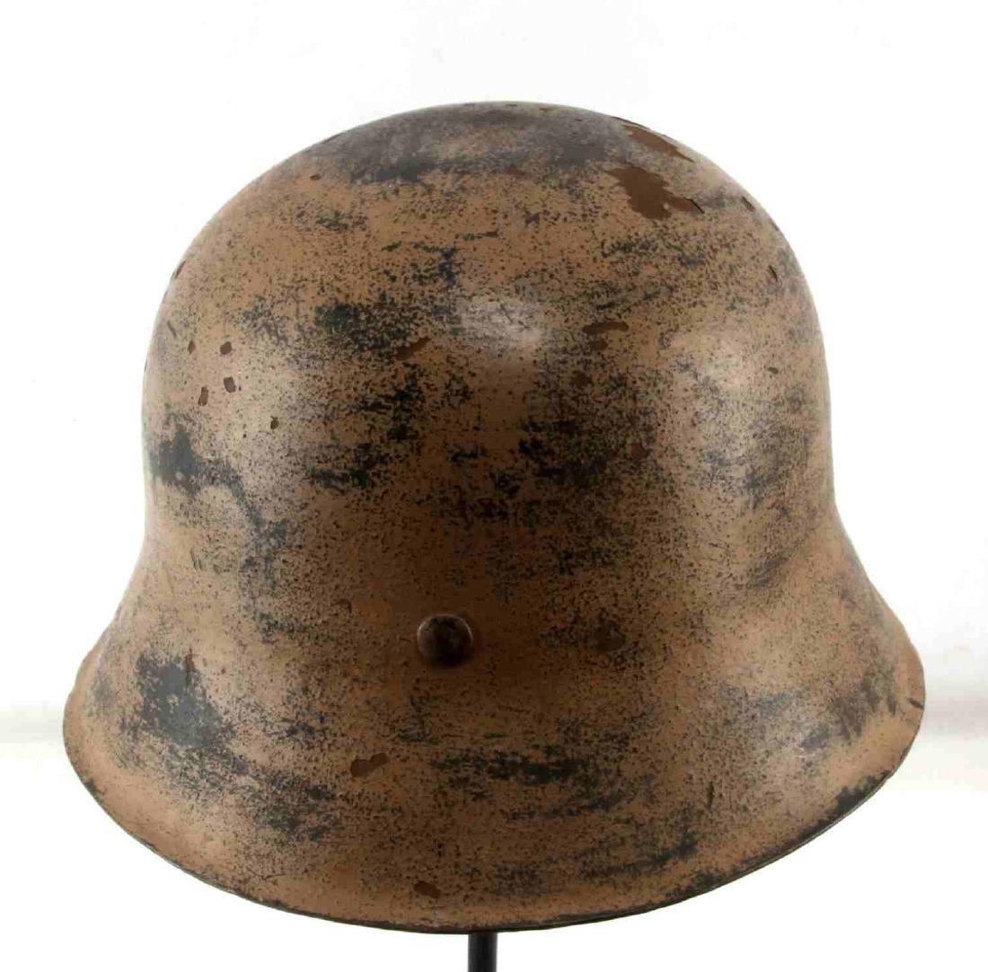 GERMAN WWII AFRIKA KORPS TROPICAL EM M40 HELMET - 3