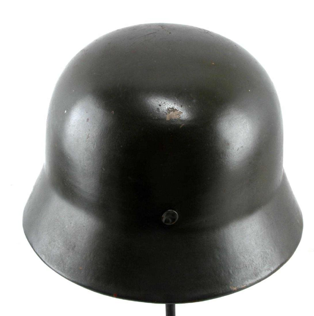 GERMAN WWII LUFTWAFFE M-35 COMBAT HELMET W LINER - 3