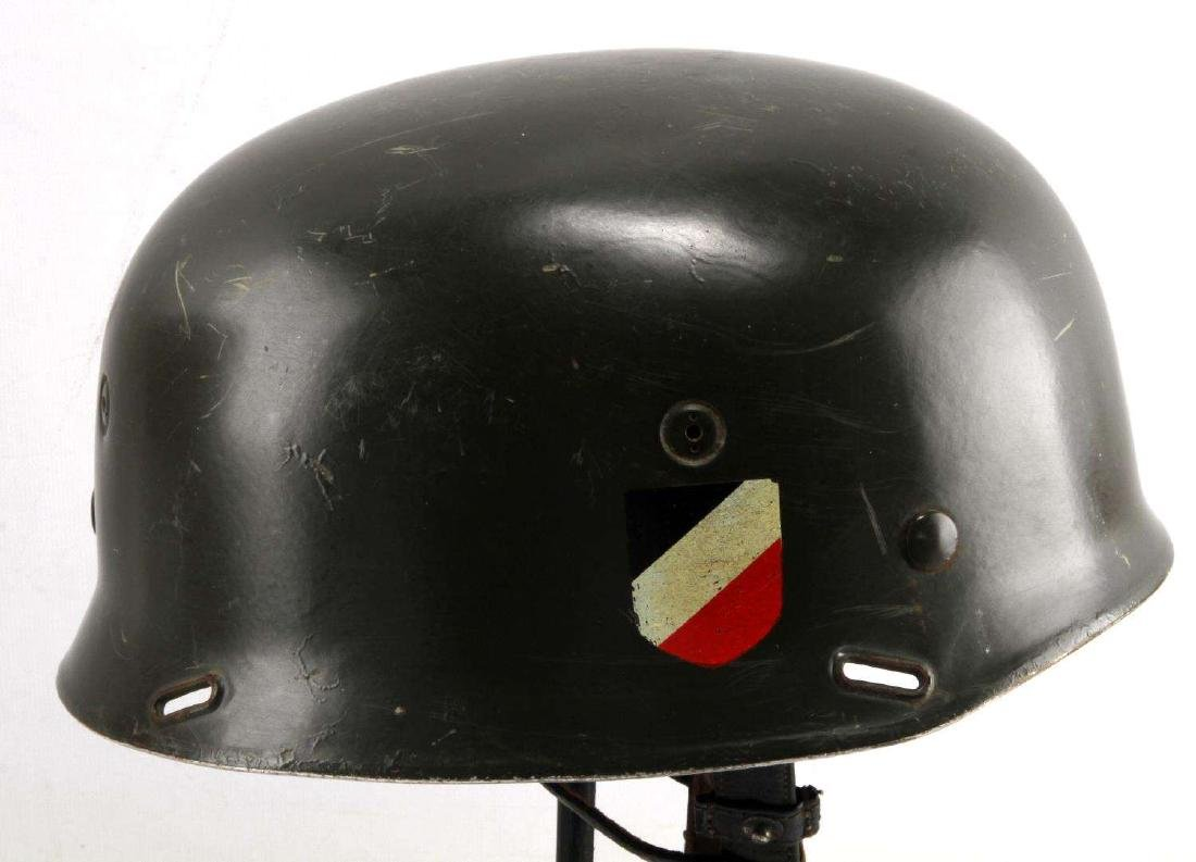 GERMAN WWII PARATROOPER DOUBLE DECAL M37 HELMET - 2