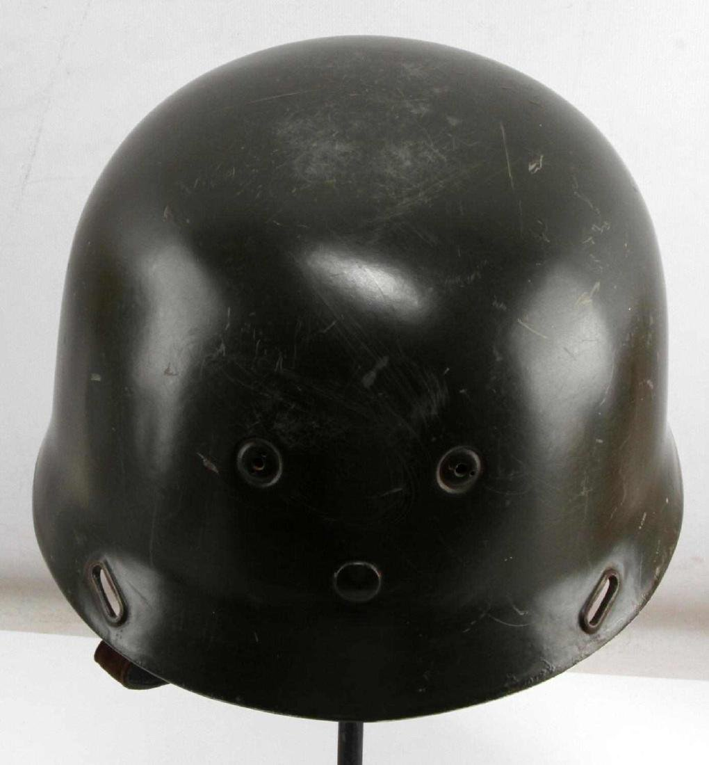 GERMAN WWII PARATROOPER DOUBLE DECAL M37 HELMET - 3