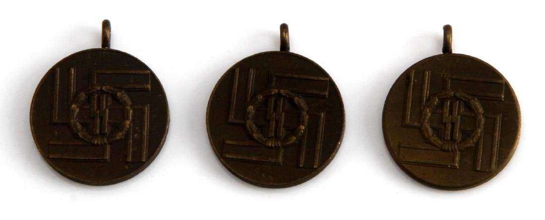 WWII WAFFEN SS MINI 8 YEAR LONG SERVICE DECORATION