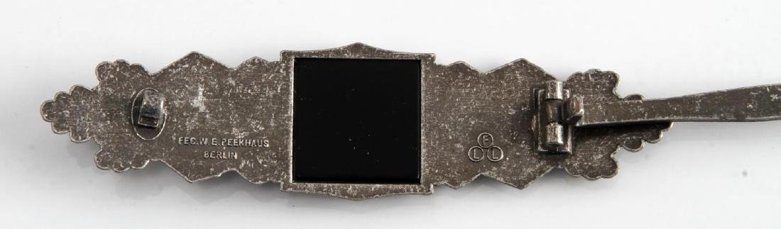 GERMAN WWII ARMY SILVER CLOSE COMBAT CLASP - 3