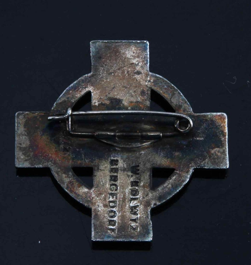 GERMAN WWII 1ST CLASS FIRE BRIGADE DECORATION - 2