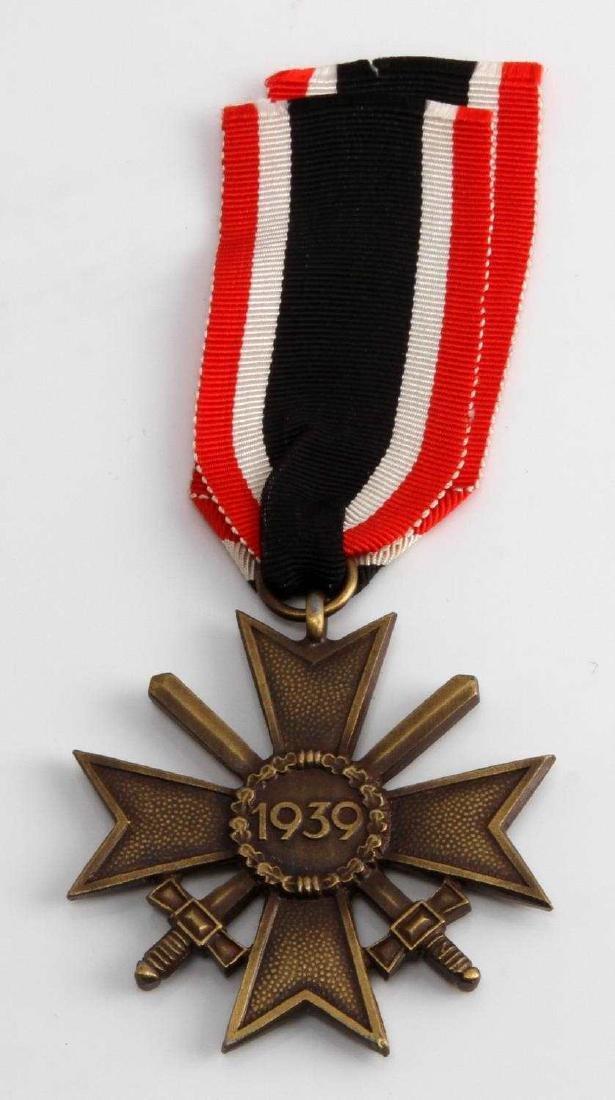 WWII GERMAN THIRD REICH WAR SERVICE CROSS W/ SWORD