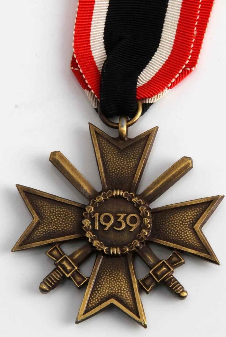 WWII GERMAN THIRD REICH WAR SERVICE CROSS W/ SWORD - 2