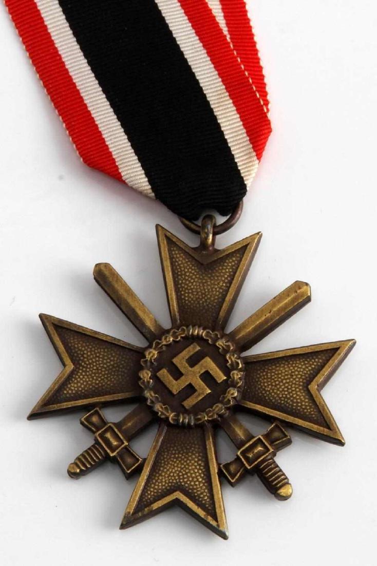 WWII GERMAN THIRD REICH WAR SERVICE CROSS W/ SWORD - 3