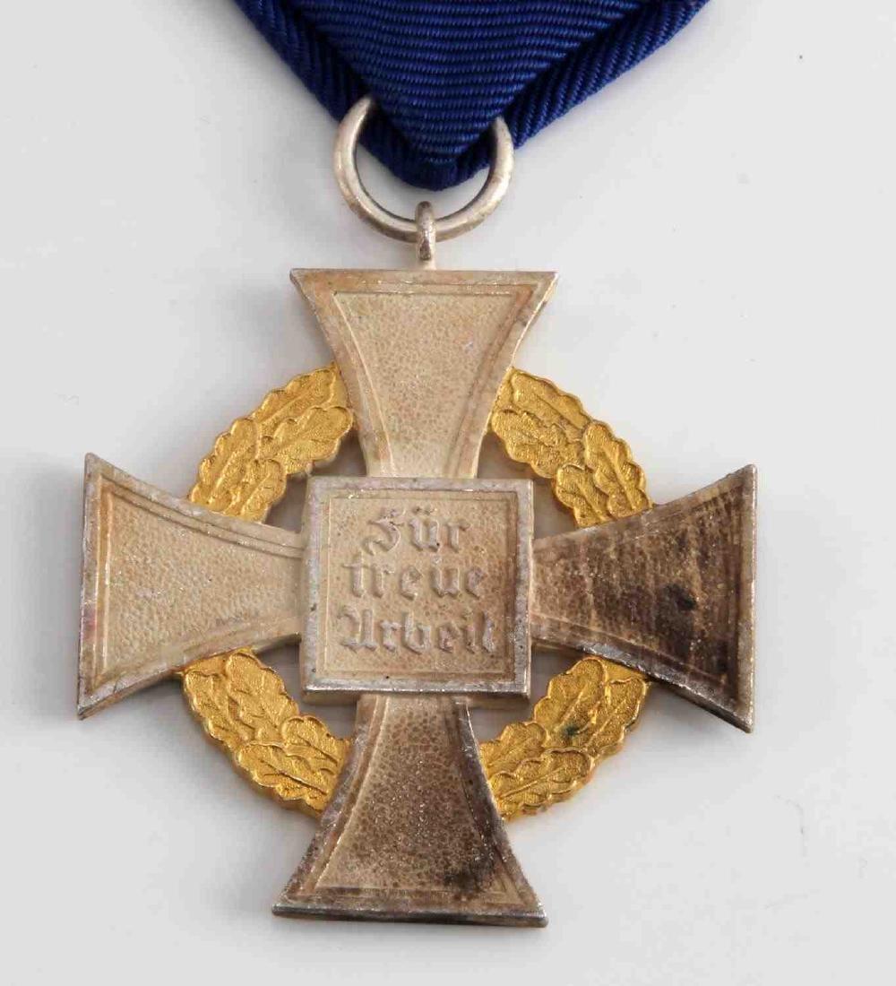 WWII GERMAN 3RD REICH NSDAP 50 YEAR SERVICE CROSS - 4
