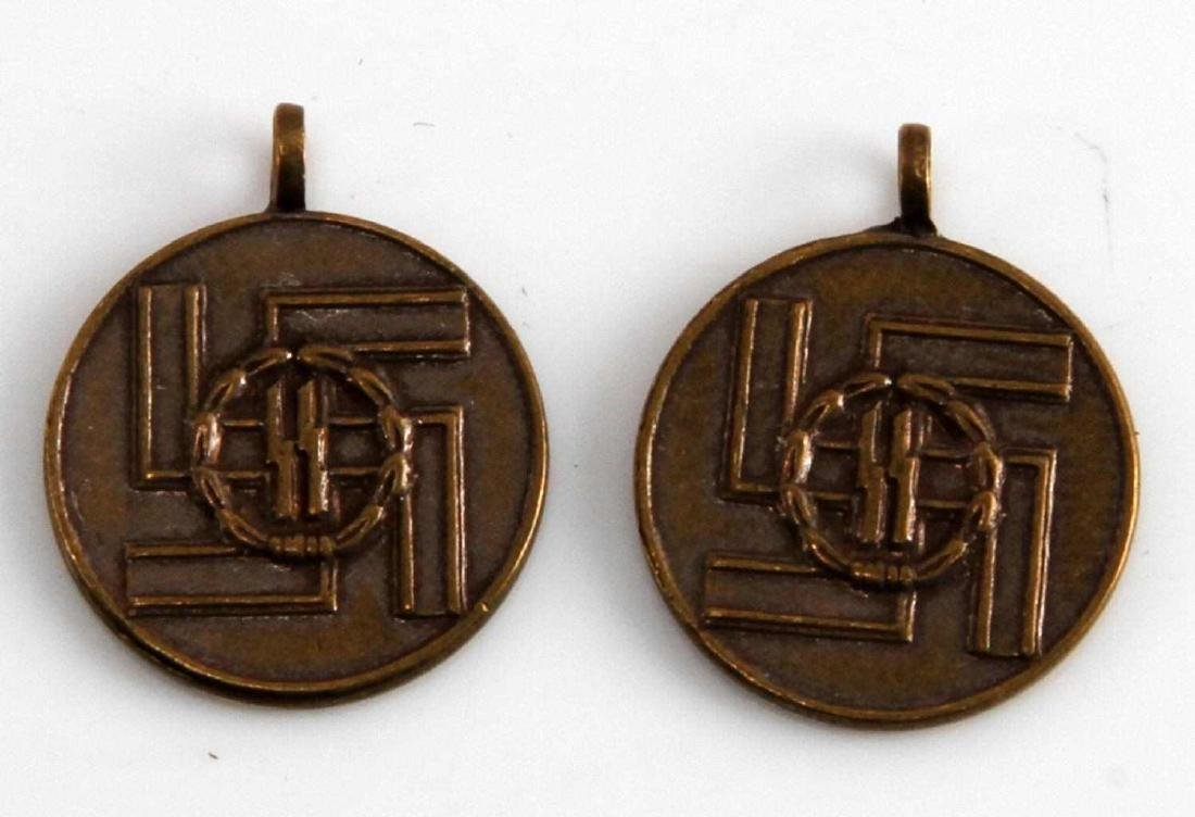 WWII GERMAN 3RD REICH SS 8 YEAR SERVICE MEDAL LOT