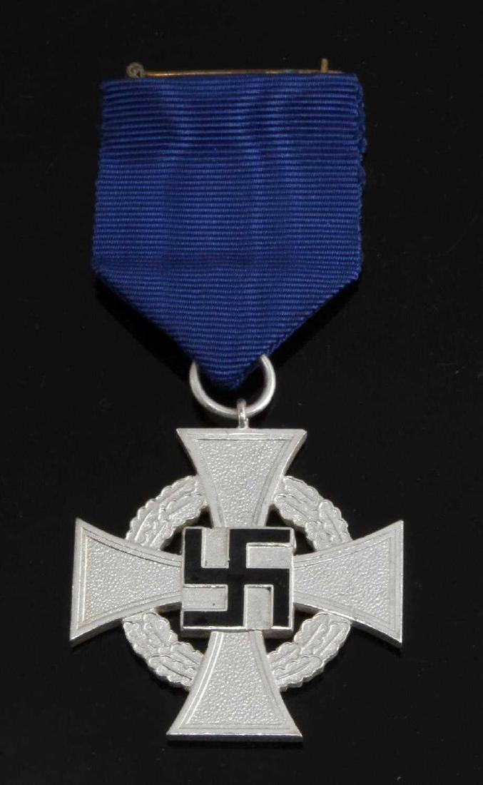 WWII GERMAN 3RD REICH NSDAP 25 YEAR SERVICE CROSS