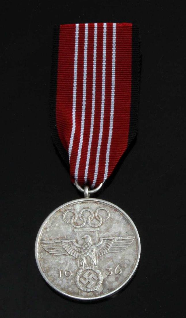 WWII GERMAN THIRD REICH SUMMER OLYMPIC DECORATION