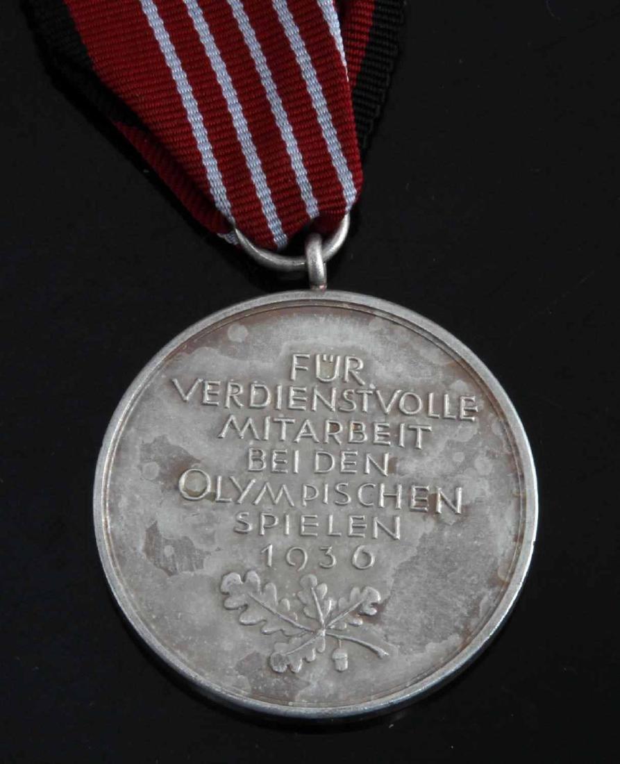 WWII GERMAN THIRD REICH SUMMER OLYMPIC DECORATION - 3