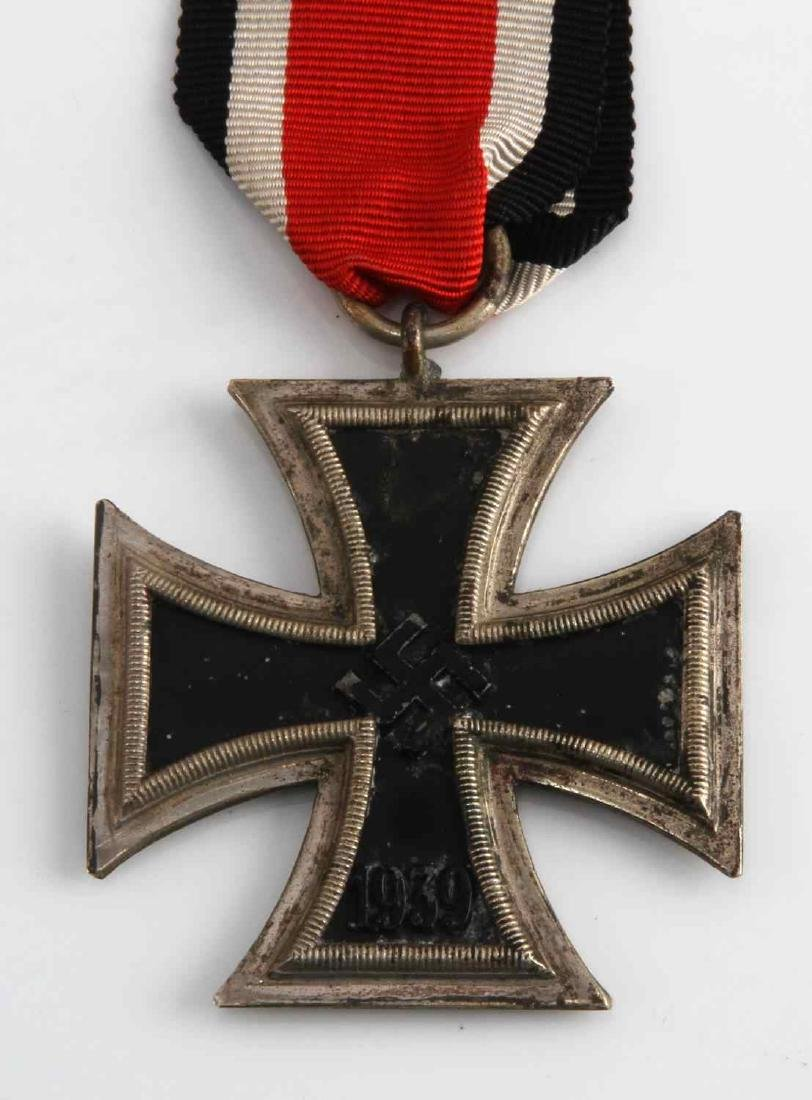 WWII GERMAN THIRD REICH 2ND CLASS IRON CROSS - 2