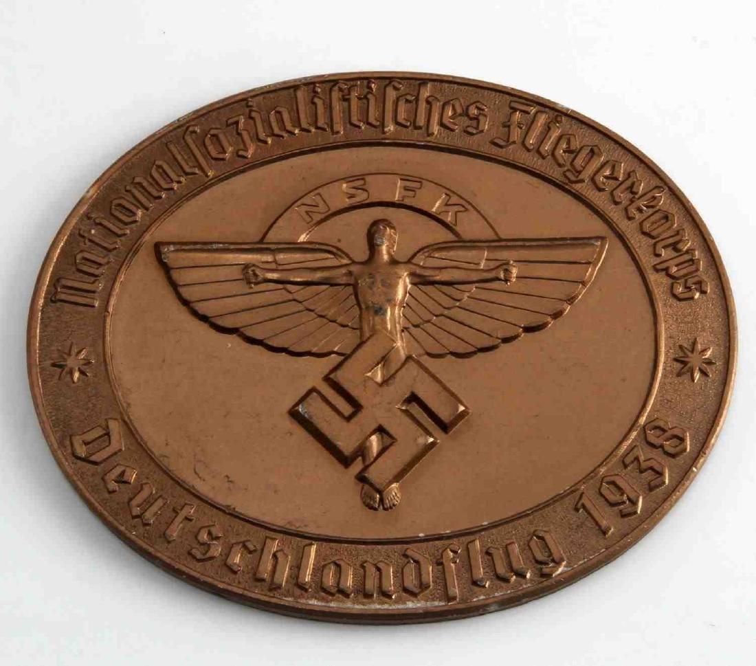 WWII GERMAN THIRD REICH NSFK DEUTSCHLANDFLUG AWARD