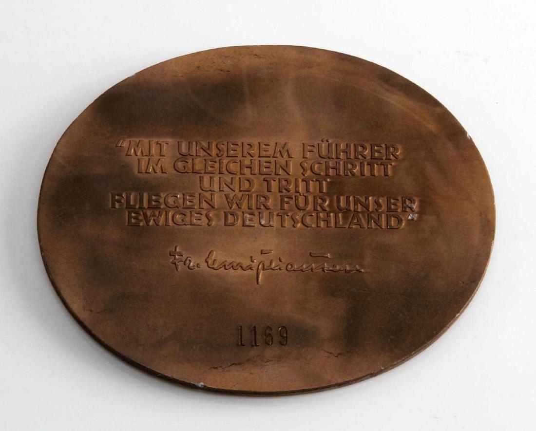 WWII GERMAN THIRD REICH NSFK DEUTSCHLANDFLUG AWARD - 2