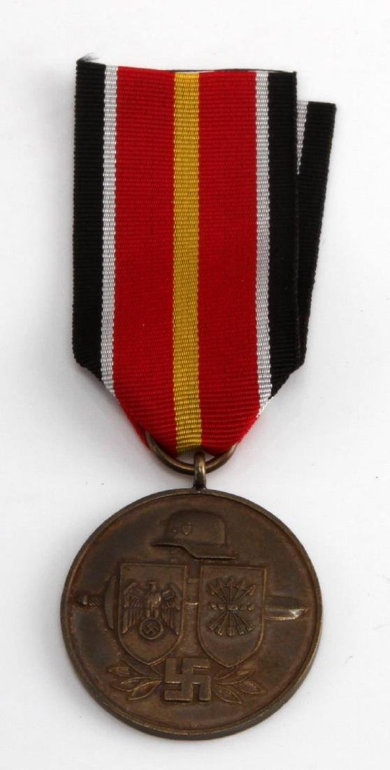 WWII GERMAN SPANISH BLUE DIV EASTERN FRONT MEDAL