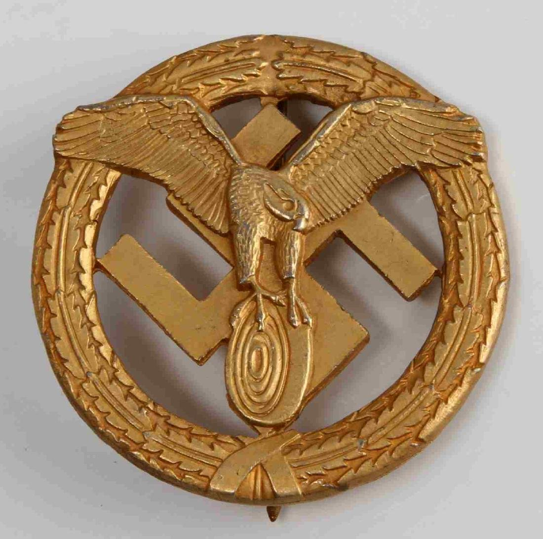 WWII GERMAN THIRD REICH NSKK MOTOR SPORTS BADGE