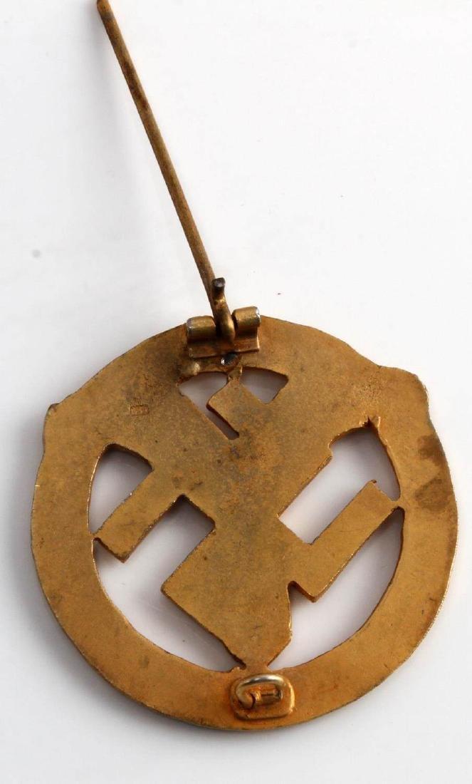 WWII GERMAN THIRD REICH NSKK MOTOR SPORTS BADGE - 3