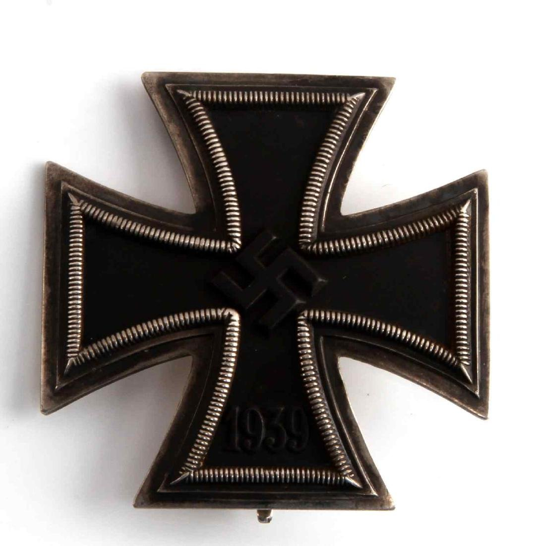 WWII GERMAN THIRD REICH IRON CROSS 1ST CLASS NAMED