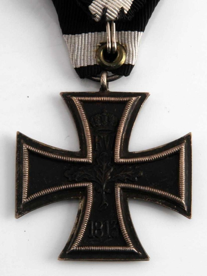 GERMAN WWI WWII IRON CROSS 2ND CLASS MEDAL - 5