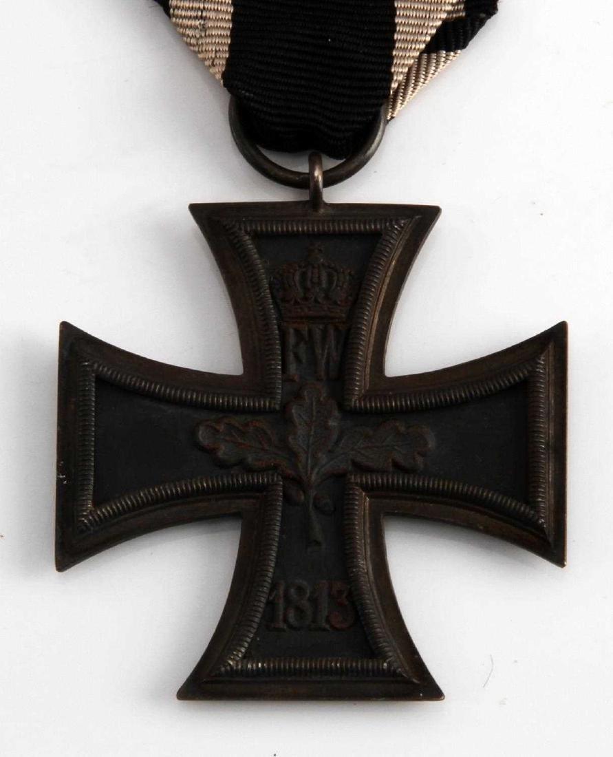 PRUSSIAN NAPOLEONIC WAR 1813 IRON CROSS 2ND CLASS - 2