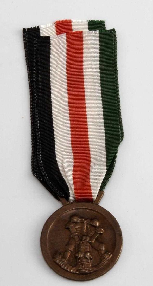 WWII GERMAN ITALIAN AFRIKA KORPS SERVICE MEDAL