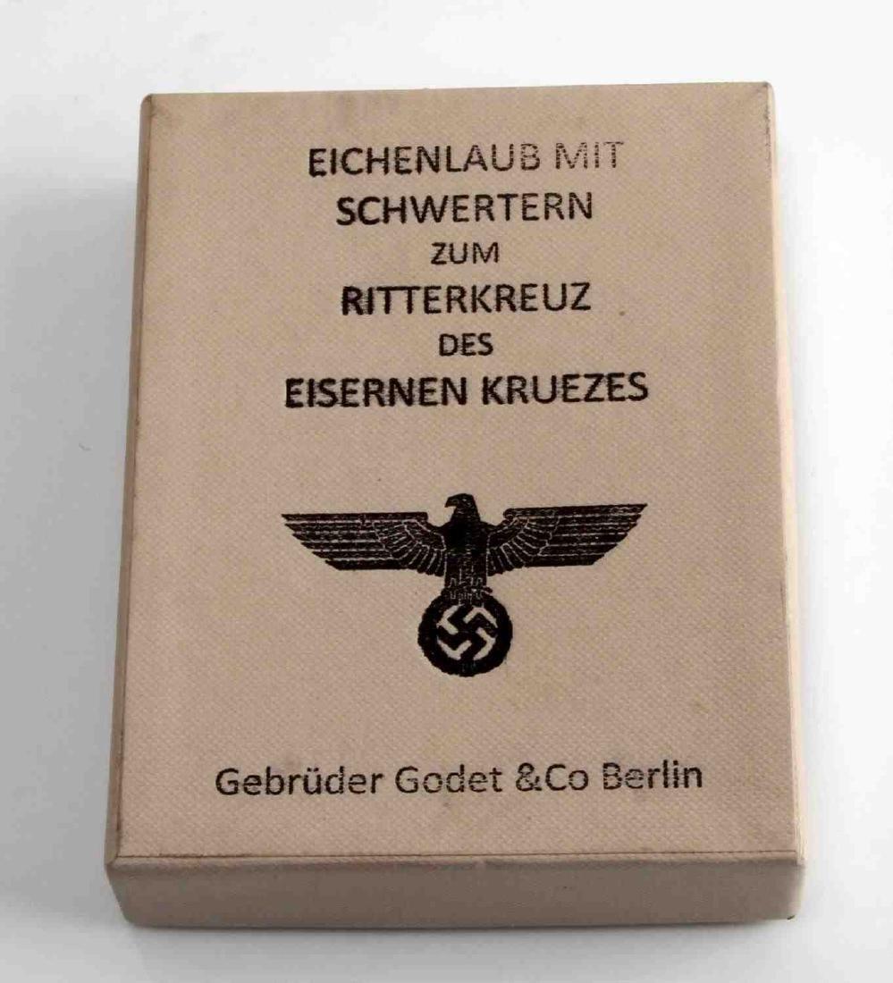 GERMAN WWII KNIGHTS CROSS PRESENTATION BOX