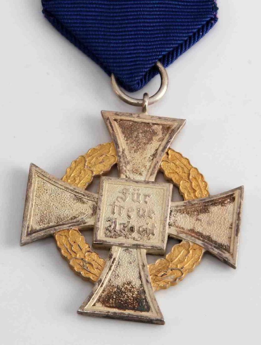 WWII GERMAN NSDAP 50 YEAR POLITICAL SERVICE CROSS - 3