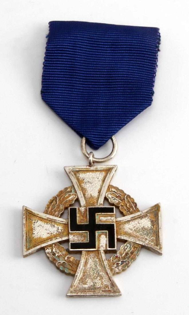 WWII GERMAN 3RD REICH NSDAP 25 YEAR SERVICE CROSS