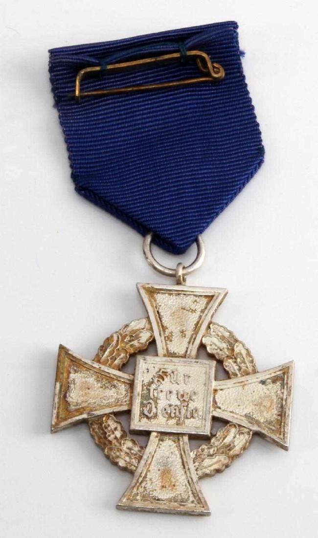 WWII GERMAN 3RD REICH NSDAP 25 YEAR SERVICE CROSS - 2