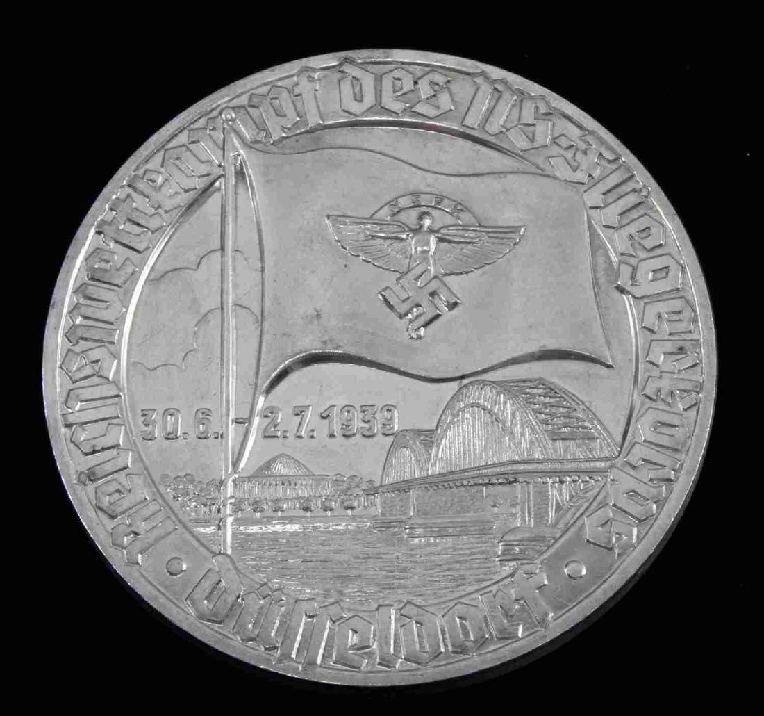 GERMAN WWII 1939 NSFK GLIDER KORPS TABLE AWARD