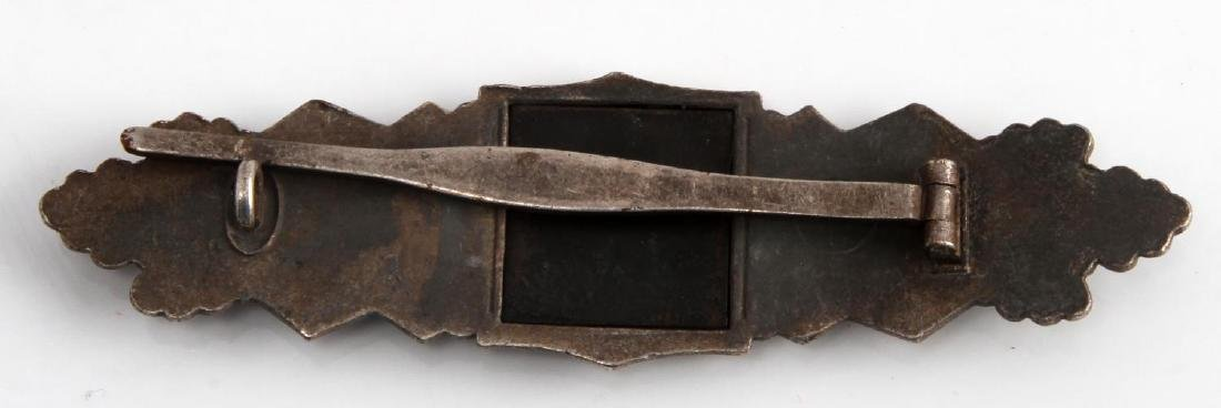 GERMAN WWII TR ARMY SILVER CLOSE COMBAT CLASP - 2
