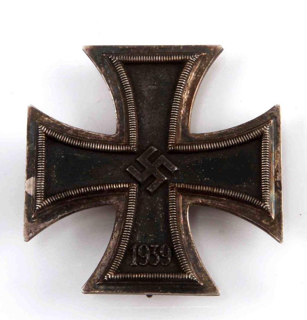 GERMAN WWII 3RD RCH 1ST CLASS SCHINKLE IRON CROSS