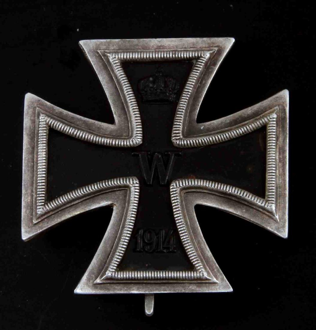 IMPERIAL GERMAN WWI 1ST CLASS IRON CROSS MEDAL