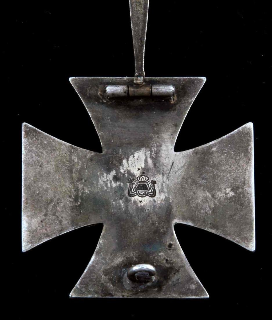 IMPERIAL GERMAN WWI 1ST CLASS IRON CROSS MEDAL - 3