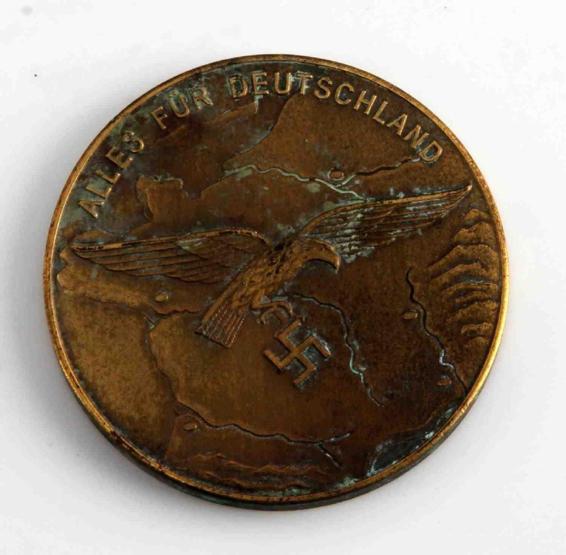 GERMAN WWII THIRD REICH LUFTWAFFE TABLE AWARD