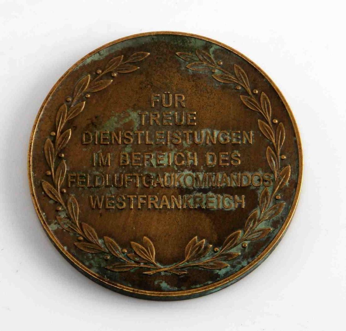 GERMAN WWII THIRD REICH LUFTWAFFE TABLE AWARD - 2
