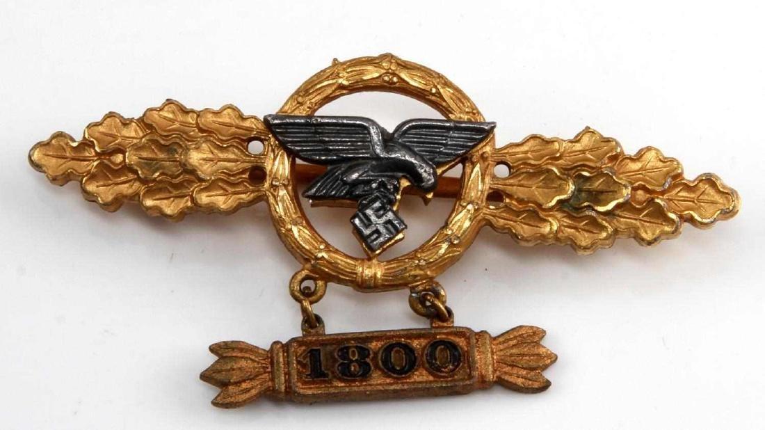 GERMAN WWII GOLD LUFTWAFFE TRANSPORT FLIGHT CLASP