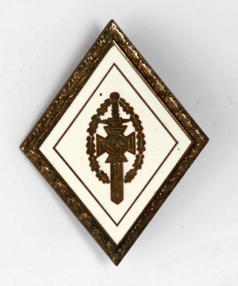 GERMAN WWII THIRD REICH NSKOV VETERANS BREAST PIN