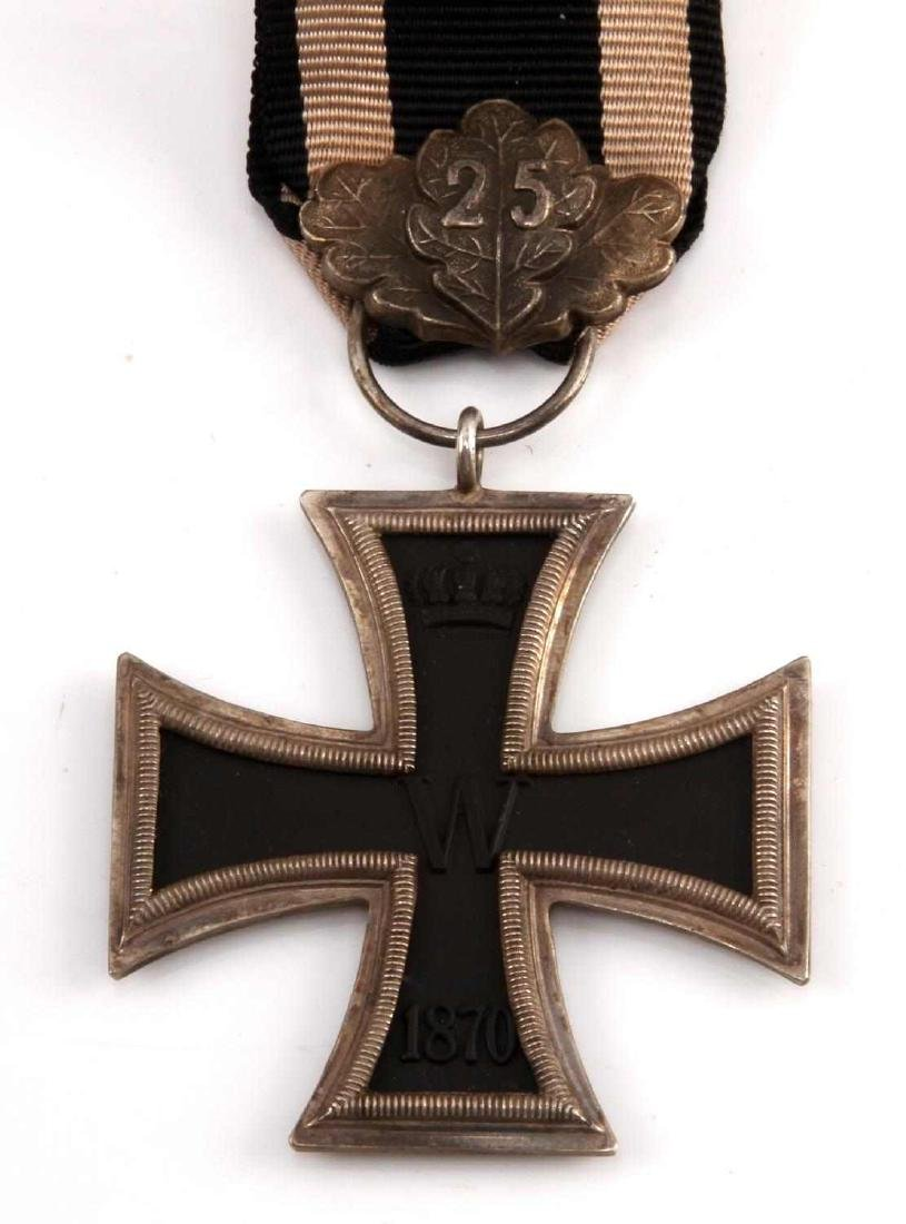 IMPERIAL GERMAN PRE WWI 1870 2ND CLASS IRON CROSS - 2